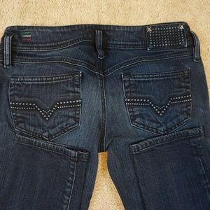Diesel Matic Tapered Skinny Jeans